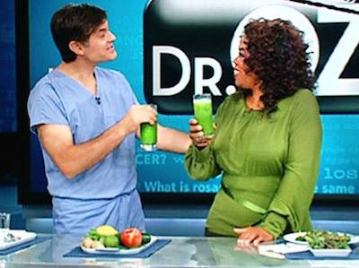 oprah-dr-oz-met-groene-smoothie