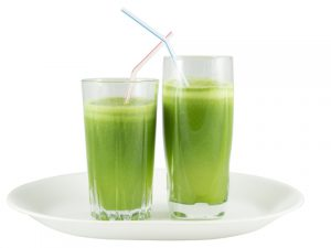 http://www.dreamstime.com/royalty-free-stock-image-green-vegetable-juice-glasses-straws-two-plate-against-white-background-image35958826