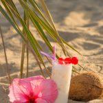 Tropische smoothie: ananas met kokos smoothie