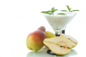 http://www.dreamstime.com/stock-photography-pear-smoothie-sprig-mint-white-background-image44219942